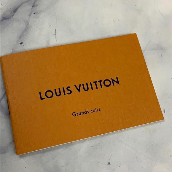 Louis Vuitton Other - 5/$25 LOUIS VUITTON carebook grands cuirs